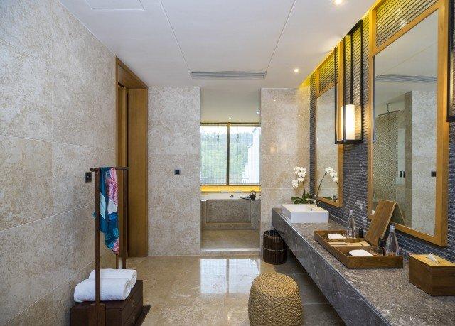 property bathroom home Suite Villa living room stone tub