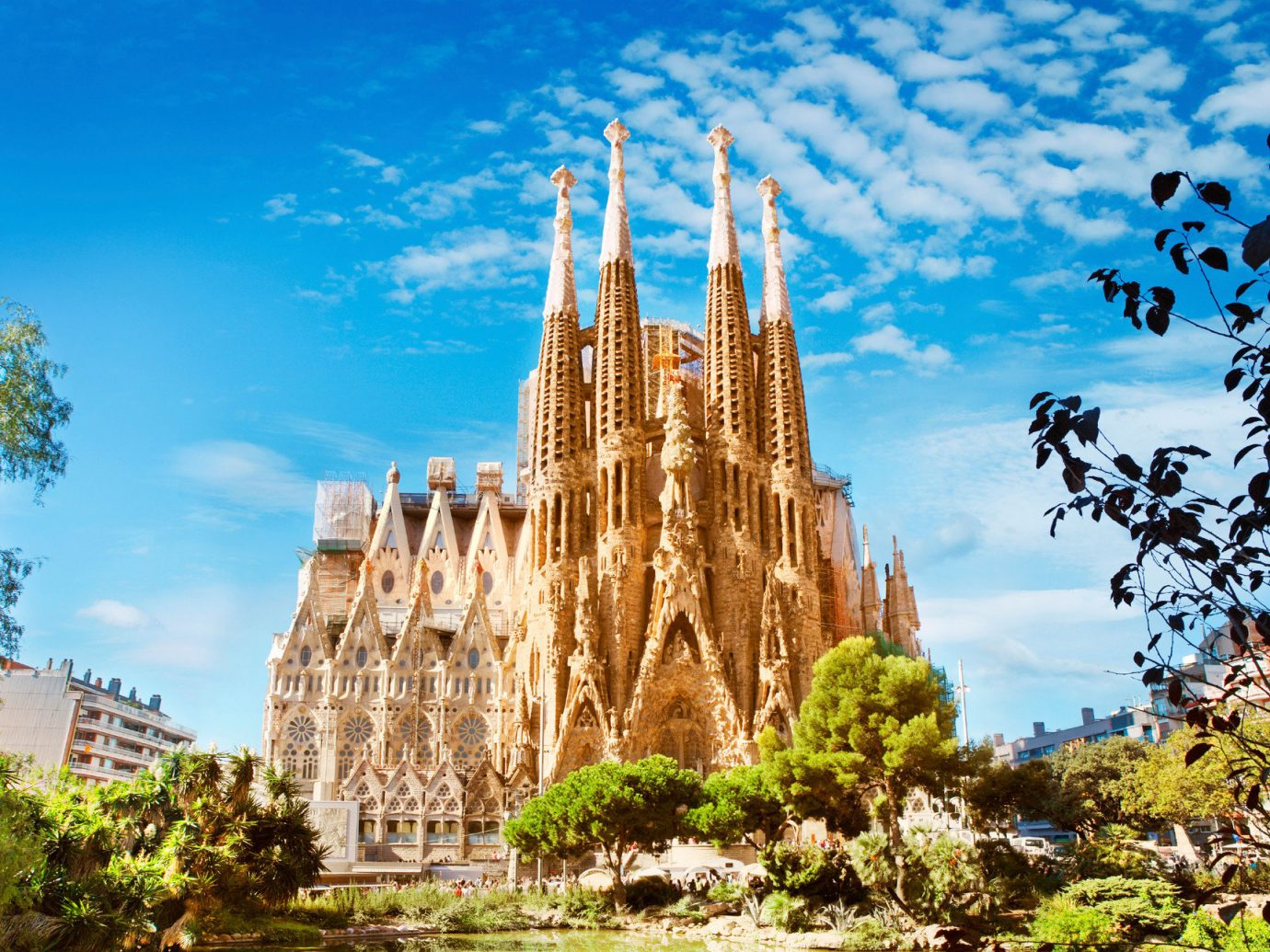 News Trip Ideas tree outdoor sky landmark historic site building tourism park flower place of worship temple tower cathedral Ruins