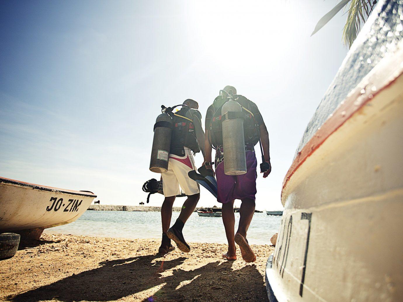 Beaches caribbean outdoor sky surfing Beach vacation fun sunlight sand tourism girl recreation travel water