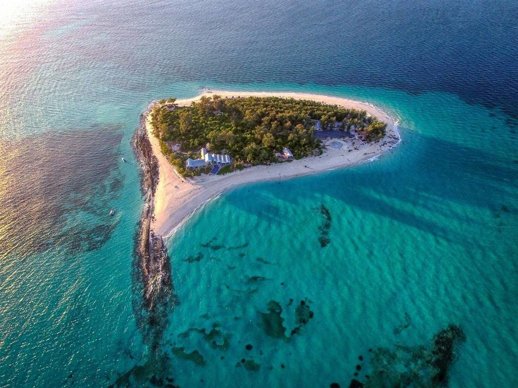 Honeymoon Hotels Luxury Travel Romance water Nature reef coastal and oceanic landforms archipelago aerial photography promontory water resources islet Island Sea atoll Ocean inlet marine biology headland Lagoon peninsula bay cape spit swimming