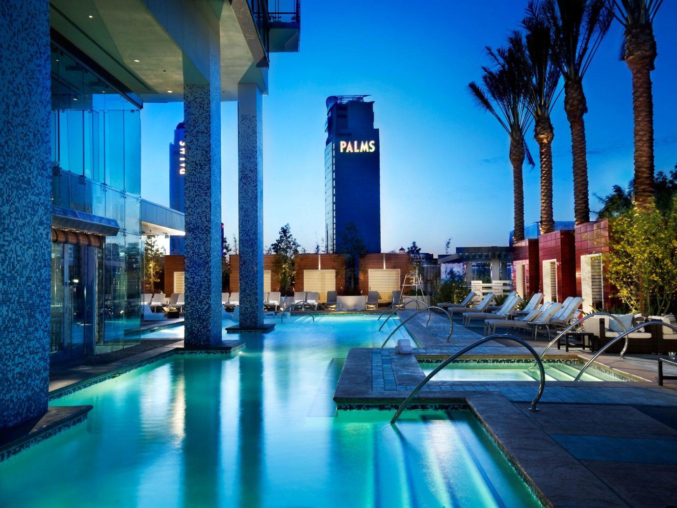 Hotels building sky outdoor swimming pool leisure Resort Pool condominium estate blue plaza