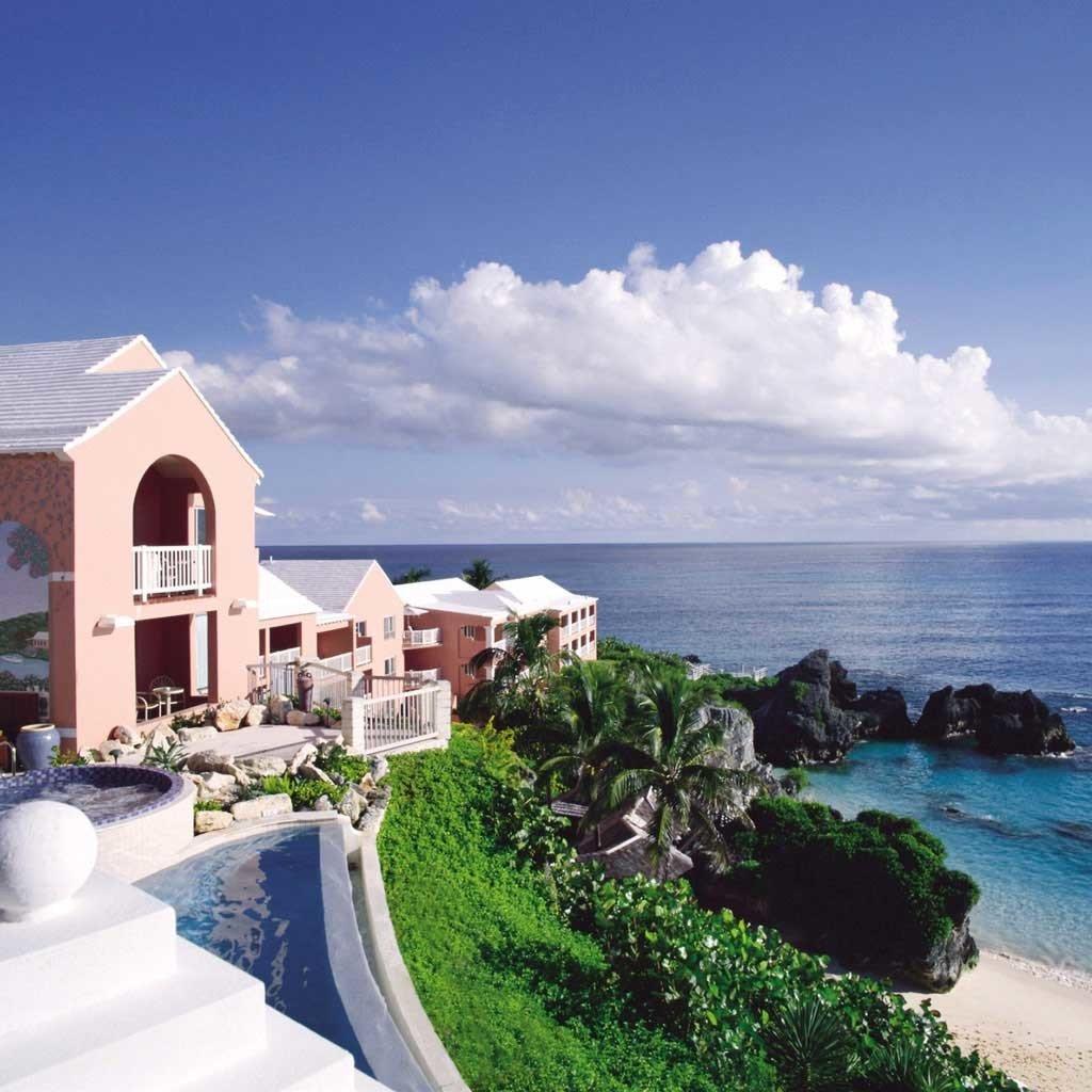 Beach Beachfront Hip Hotels Lounge Luxury Ocean sky outdoor Coast property Nature Sea vacation caribbean Resort bay estate cape Villa Island cove