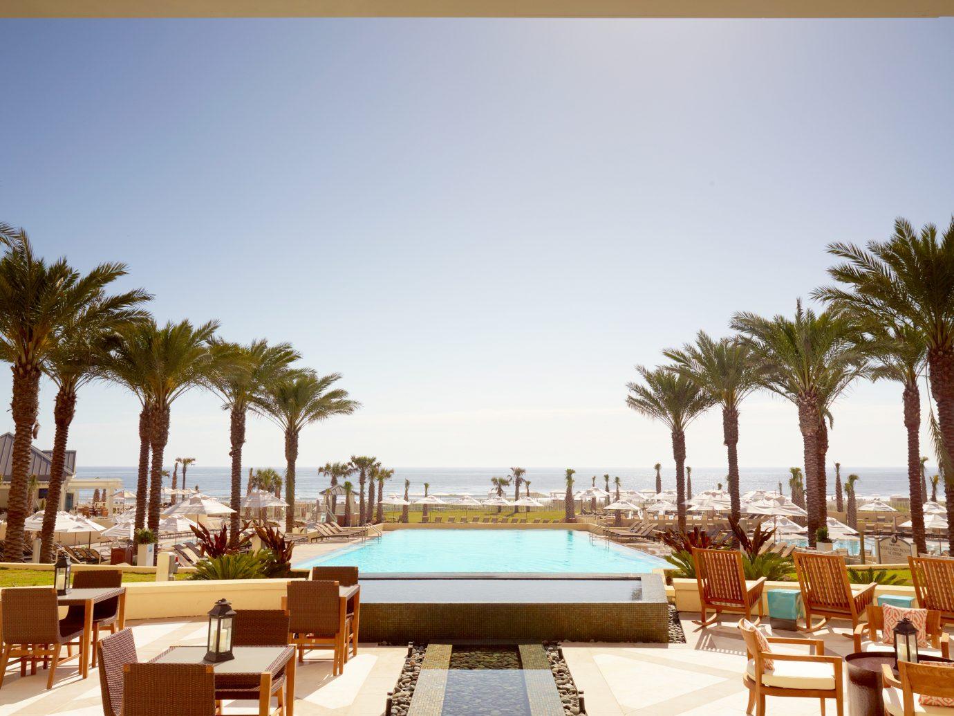 Elegant Living Lounge Pool Trip Ideas sky outdoor property Resort estate vacation condominium restaurant home walkway interior design plaza Villa hacienda Design palace swimming pool