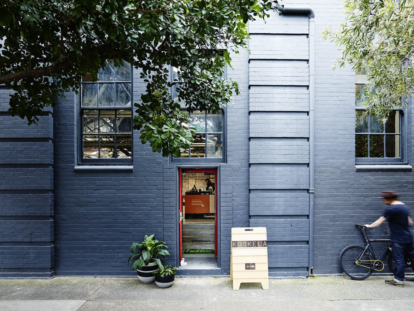 Trip Ideas outdoor tree house urban area neighbourhood road home wall Architecture street residential area facade door wood cottage scooter
