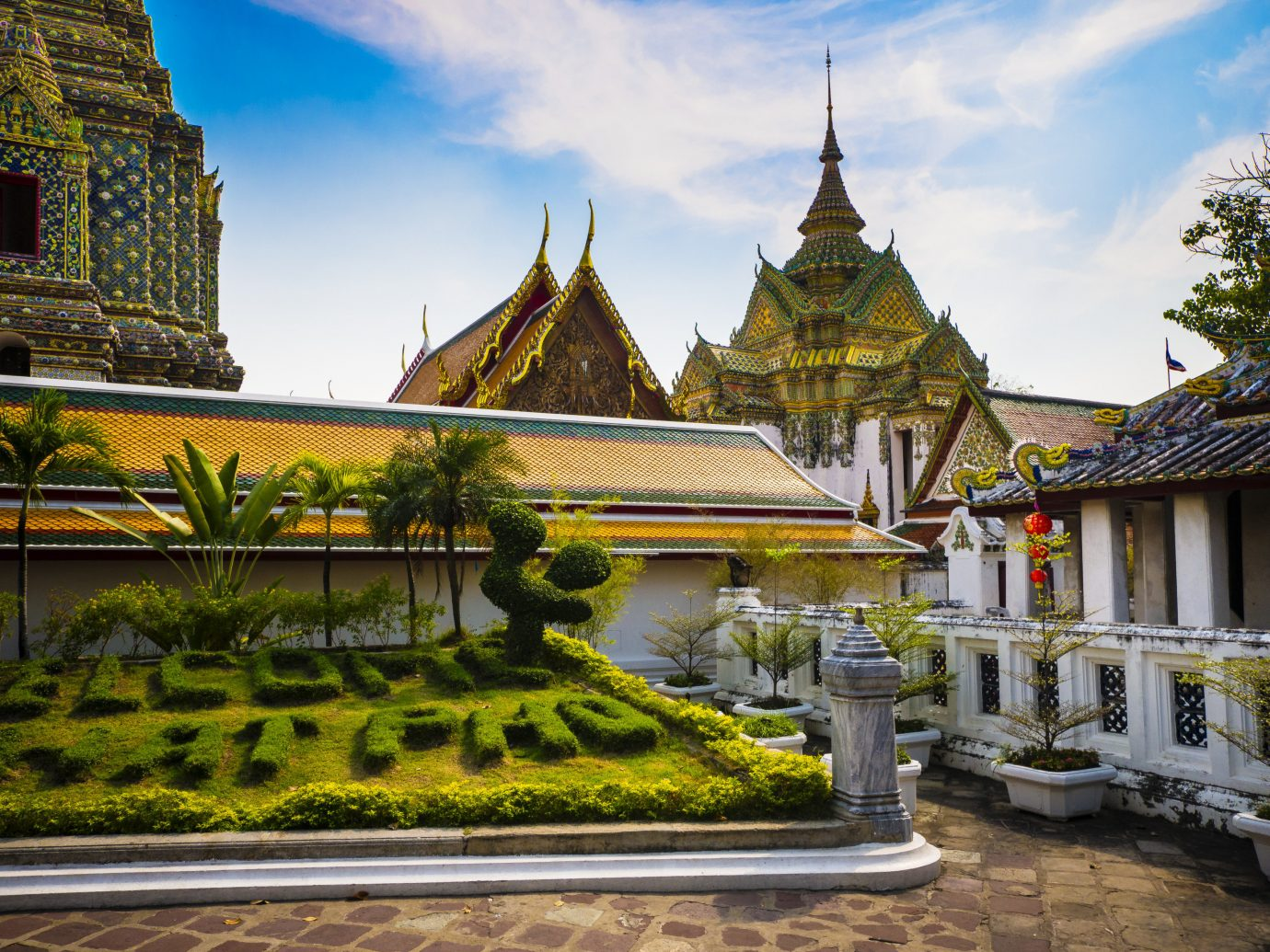 Jetsetter Guides outdoor sky building place of worship landmark palace estate tourism wat vacation hindu temple temple monastery mansion travel Garden shrine