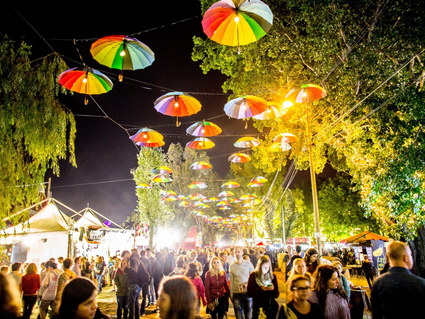 Arts + Culture person outdoor crowd people night group flower festival mid autumn festival colorful colored several