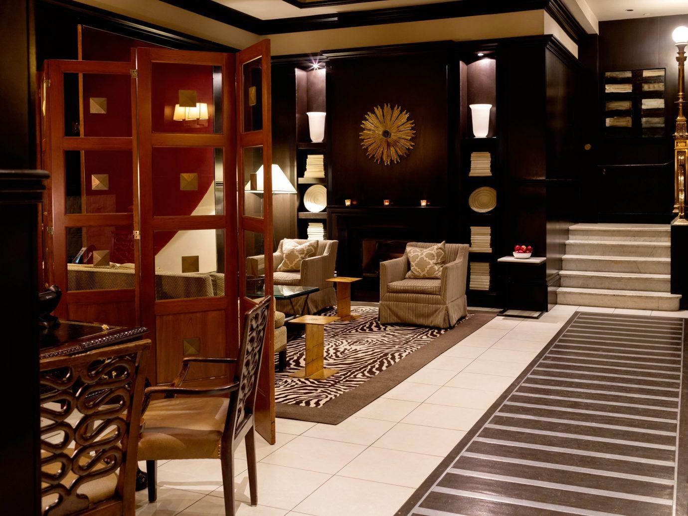 Hotels indoor room chair interior design floor dining room Lobby home lighting living room wood Design estate window covering Boutique furniture