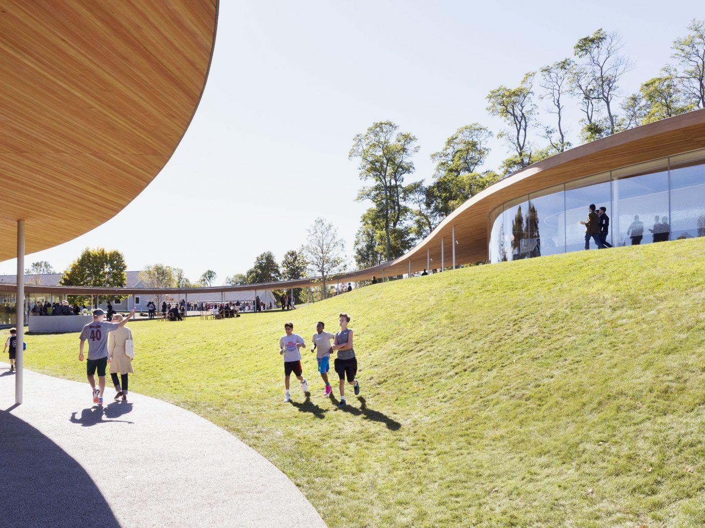 Girls Getaways Trip Ideas Weekend Getaways sky outdoor grass leisure structure public space sport venue Playground campus stadium
