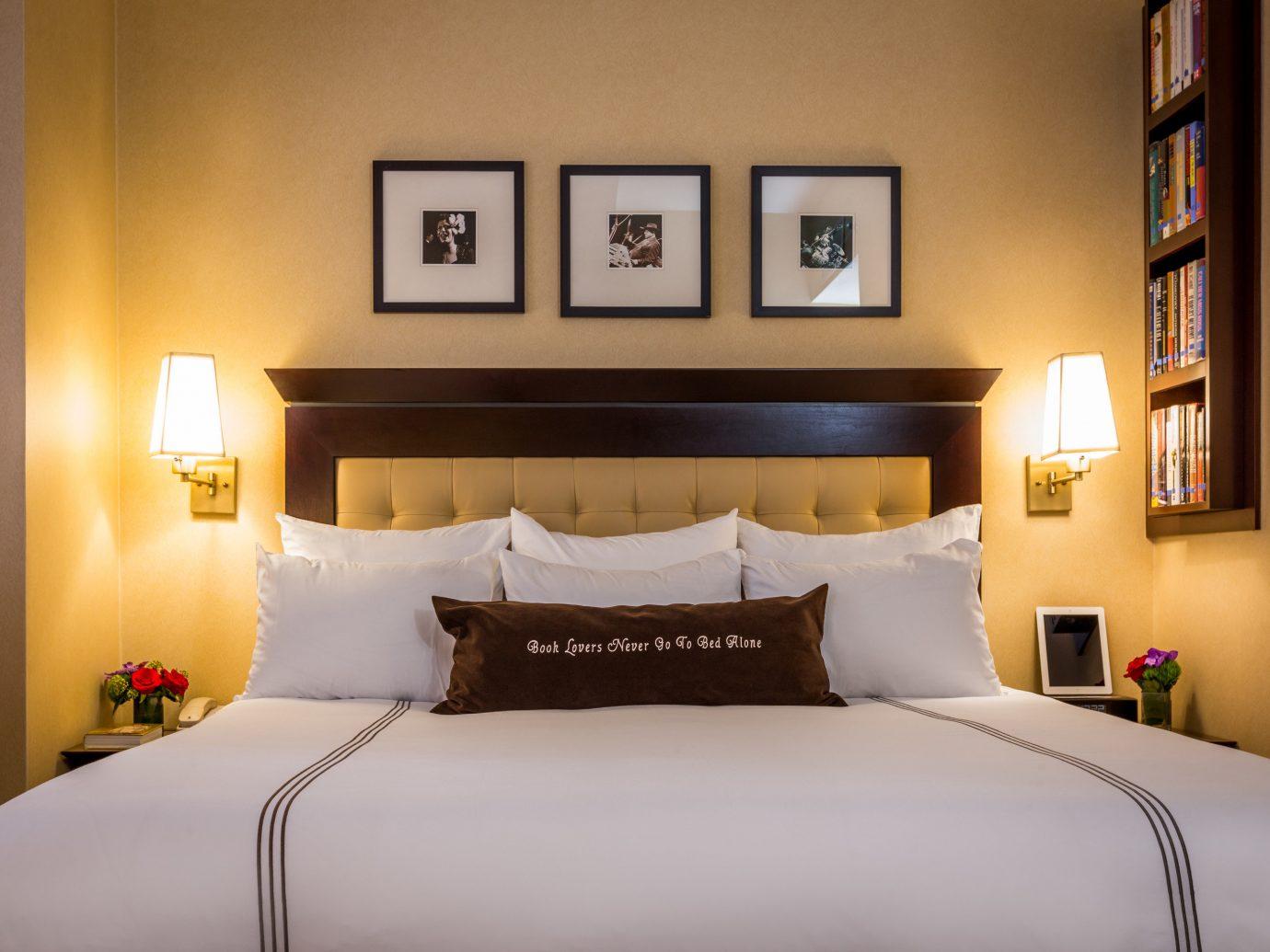 Hotels bed wall indoor room Bedroom property scene hotel interior design Suite furniture bed sheet bed frame estate cottage