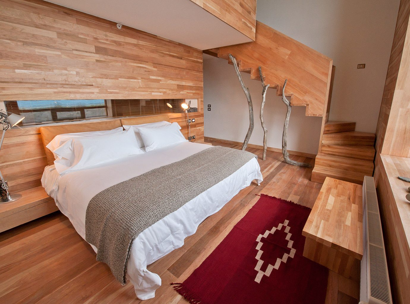 All-Inclusive Resorts Bedroom Elegant Hip Hotels Luxury Modern Romantic Hotels Suite indoor bed floor wall room property cottage hardwood wooden real estate estate apartment wood
