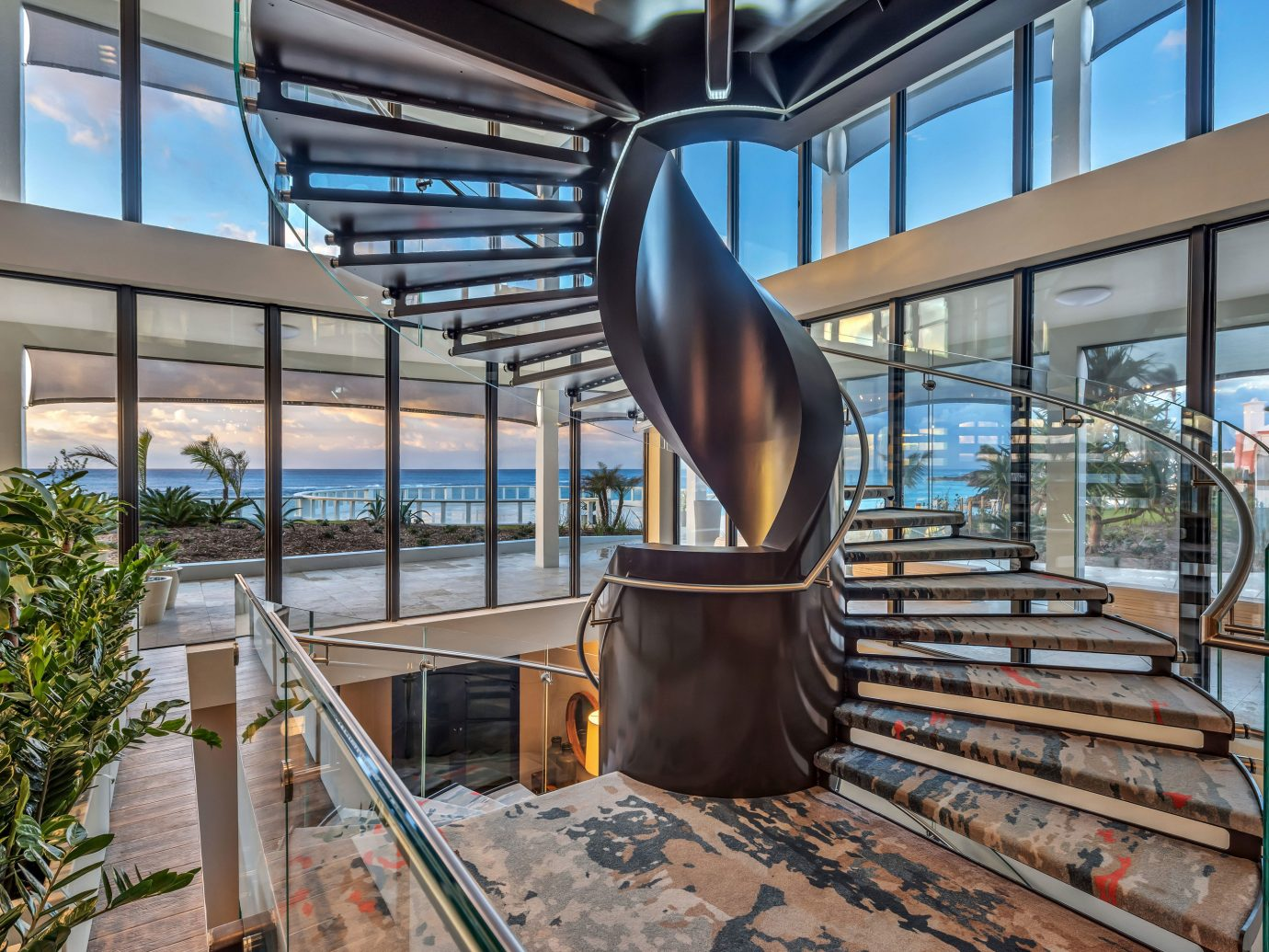Hotels Offbeat Romance Trip Ideas indoor building Architecture estate home interior design facade stairs tourist attraction furniture