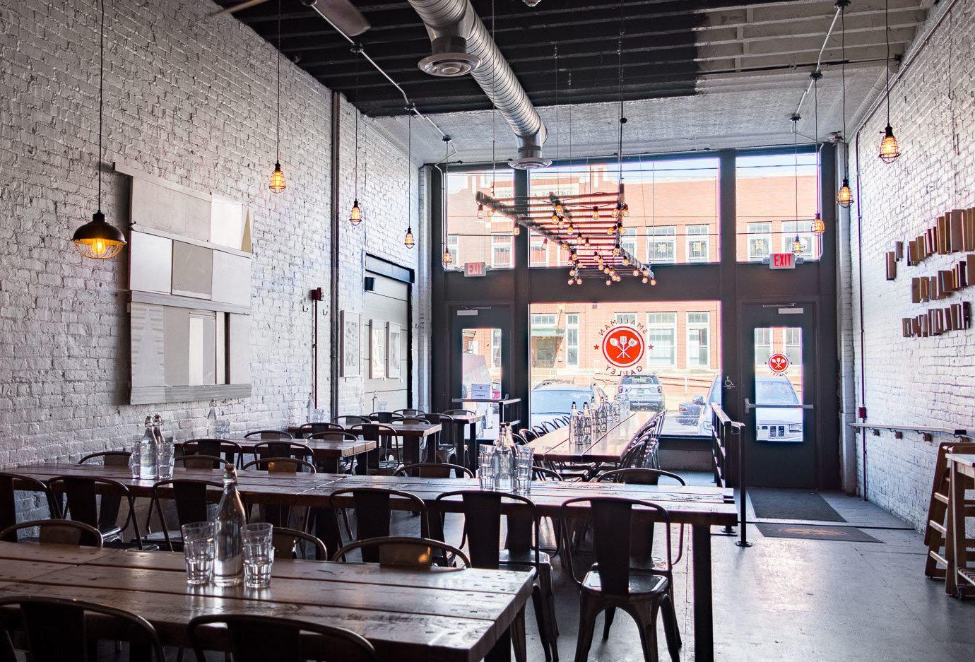 Road Trips Trip Ideas table indoor interior design loft restaurant café furniture several