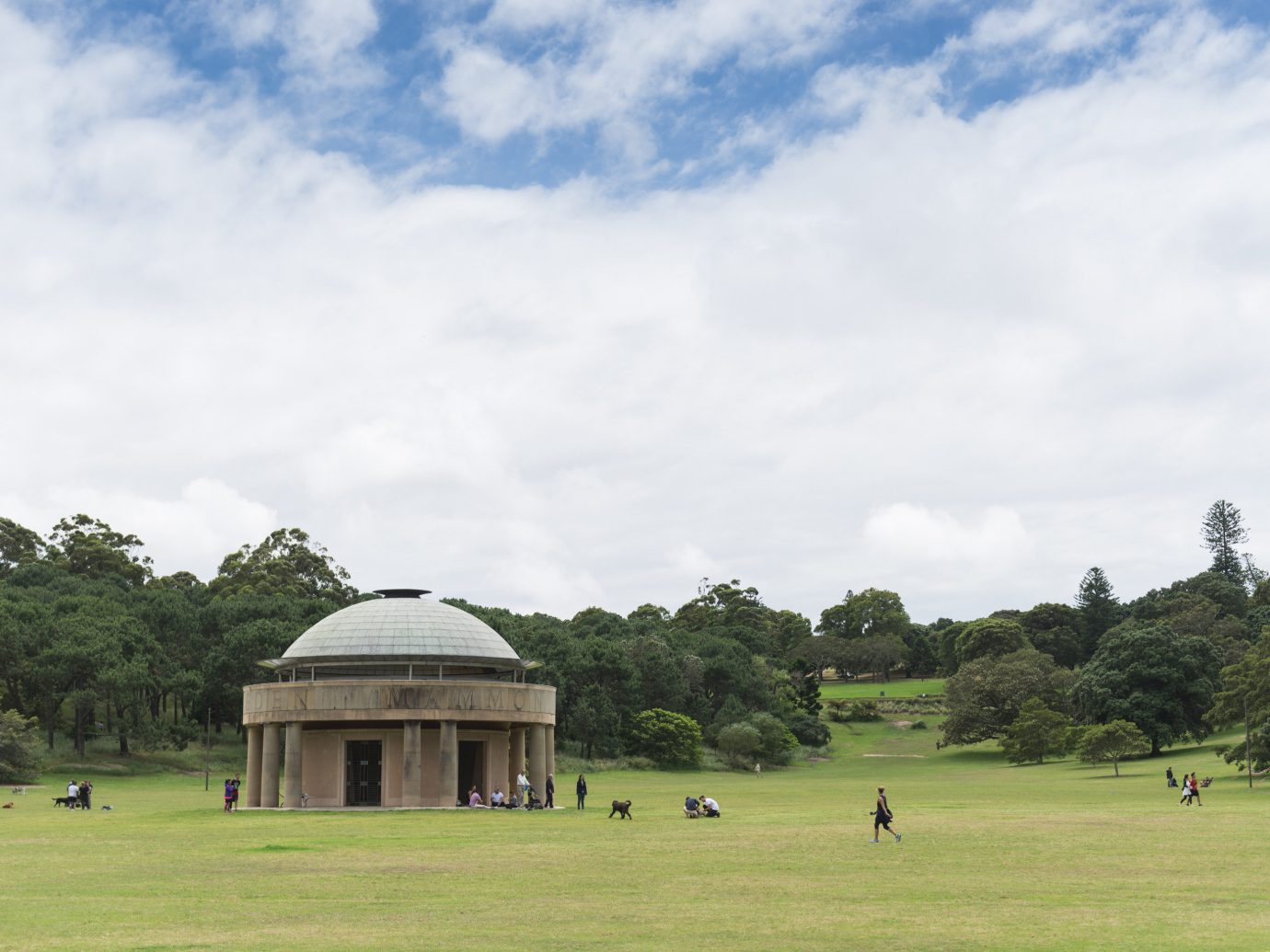 City Outdoors + Adventure Sydney grass outdoor sky tree cloud field grassland daytime park pasture estate plant lawn meadow landscape rural area national trust for places of historic interest or natural beauty house hill stately home Farm tourism day lush