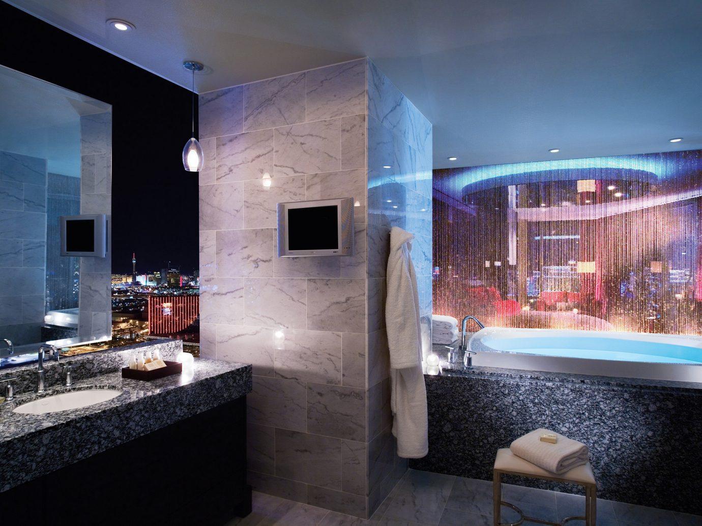 Bathroom in the Sky Villa, Palms Casino Resort in Las Vegas