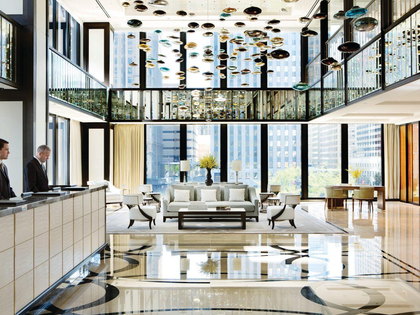 Hotels indoor room property window floor home interior design condominium estate living room Lobby daylighting Design