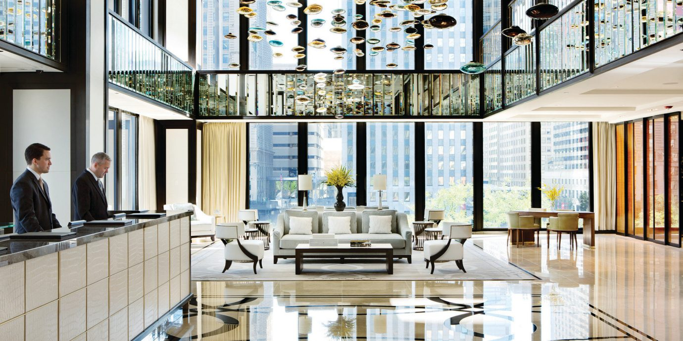 Hotels indoor room property window floor home interior design condominium estate living room Lobby daylighting Design