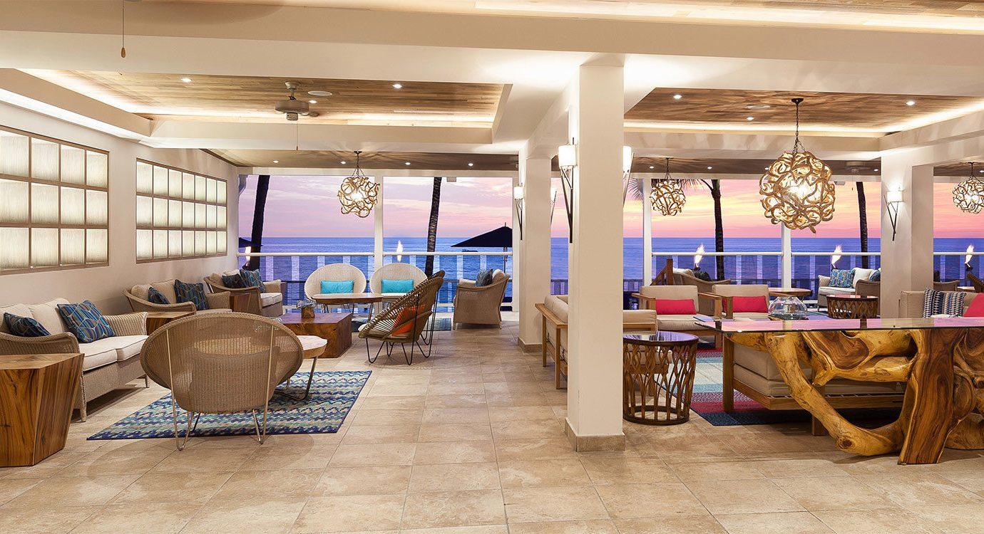 All-Inclusive Resorts Hotels floor indoor ceiling room chair interior design Lobby restaurant flooring furniture area wood several