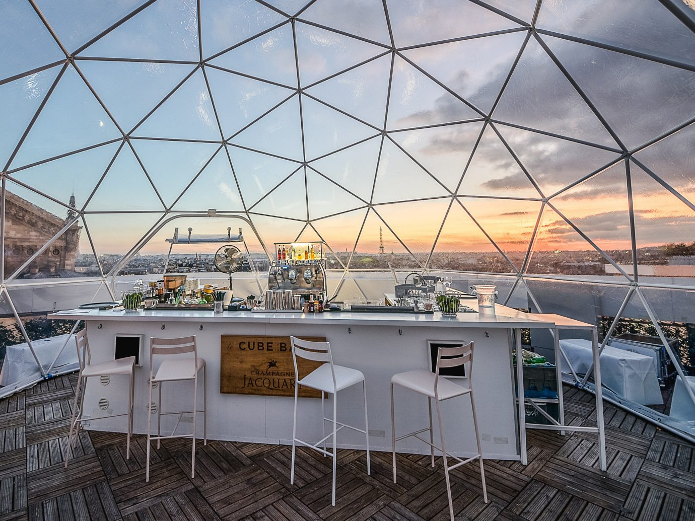 Food + Drink Paris Trip Ideas dome structure Architecture sky roof building daylighting outdoor structure