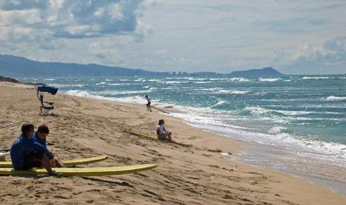 Jetsetter Guides outdoor Beach water sky Nature shore Coast Ocean Sea wind wave sports wind sandy wave