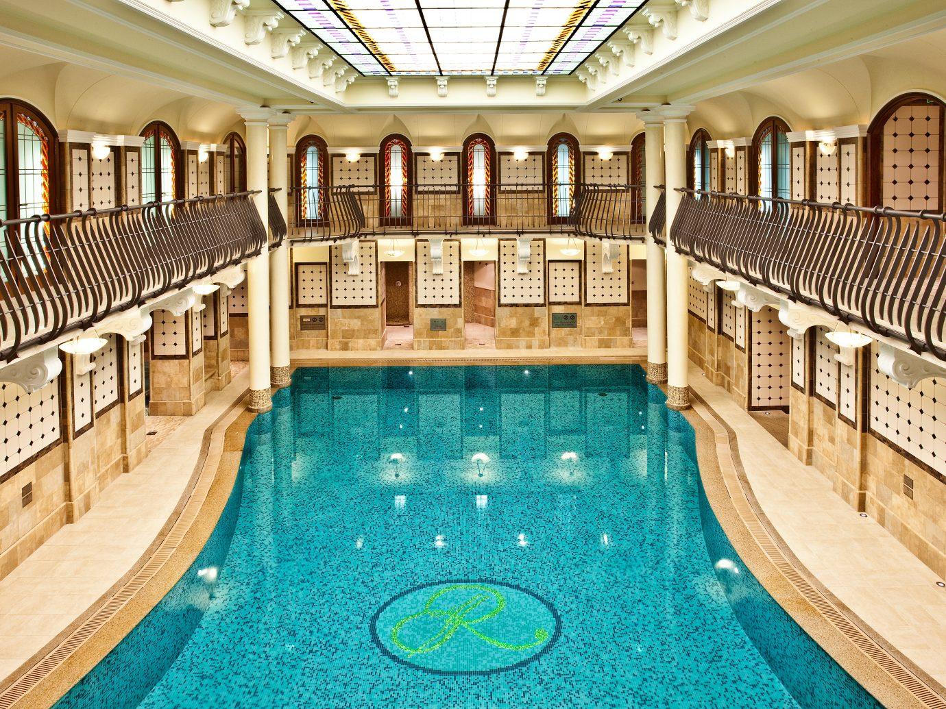City Elegant Family Historic Luxury Pool Trip Ideas indoor floor ceiling swimming pool property estate leisure palace mansion Resort furniture