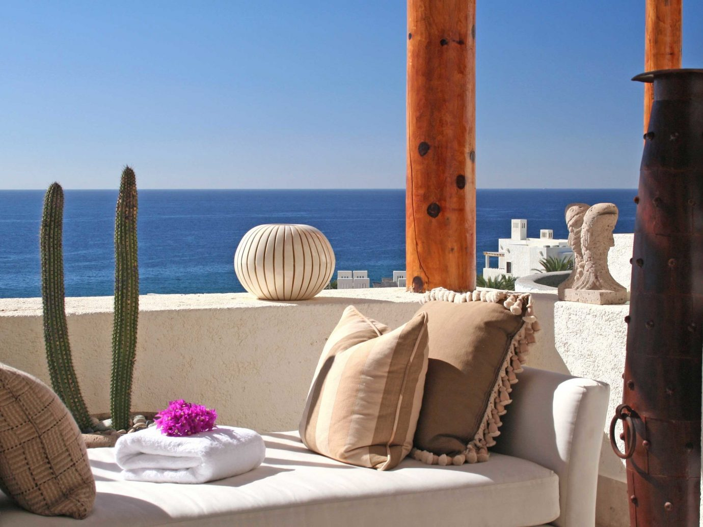Beachfront Hotels Living Lounge Luxury Travel Offbeat Scenic views Tropical sky outdoor property vacation Beach Sea home Ocean Coast estate Resort cottage Villa