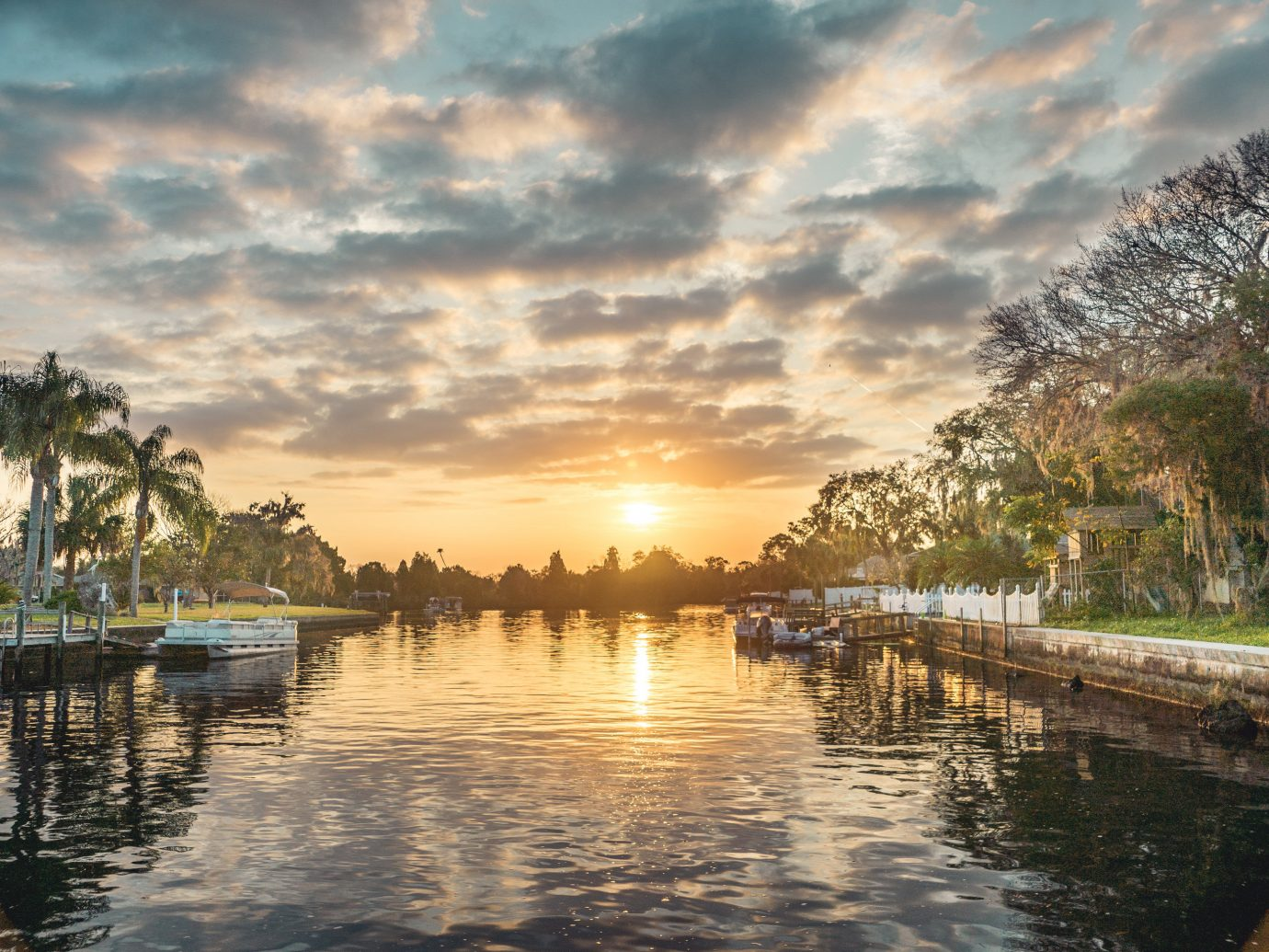 Trip Ideas outdoor water sky River reflection morning Sea evening Sunset dusk Nature waterway bay pond shore clouds several day