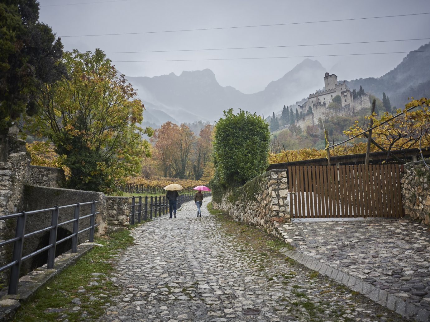 Travel Tips outdoor tree transport wall River waterway Canal way bridge rural area walkway autumn