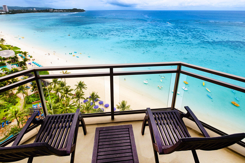 Trip Ideas water leisure chair vacation swimming pool caribbean estate Resort empty overlooking Deck shore
