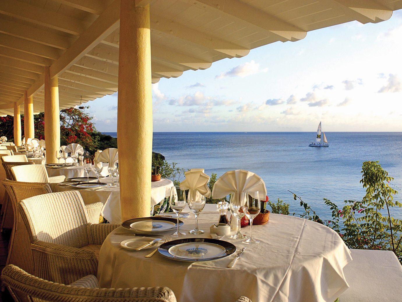 Beachfront Family Luxury Resort Trip Ideas water vacation estate restaurant Villa