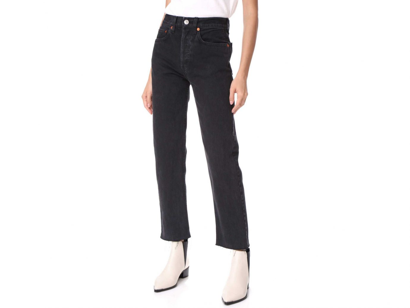 Packing Tips shopping Style + Design Travel Shop clothing trouser jeans denim standing waist trousers active pants joint pocket posing