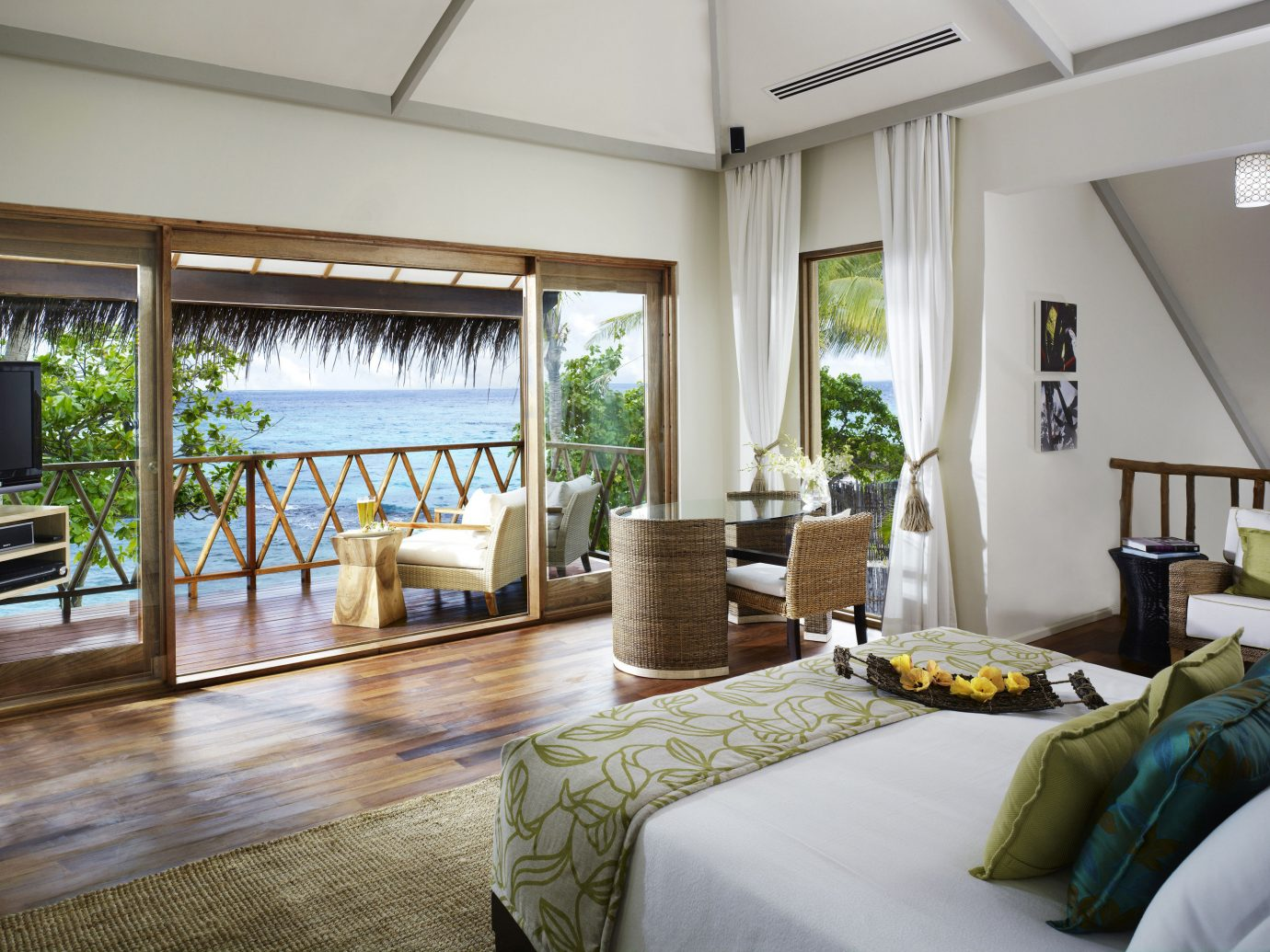 Bedroom at Taj Coral Reef Resort & Spa