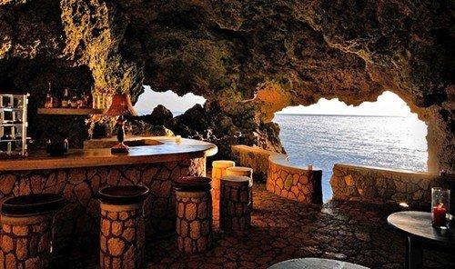 Trip Ideas mountain outdoor room Nature estate lighting Resort restaurant cottage landscape lighting Island cave