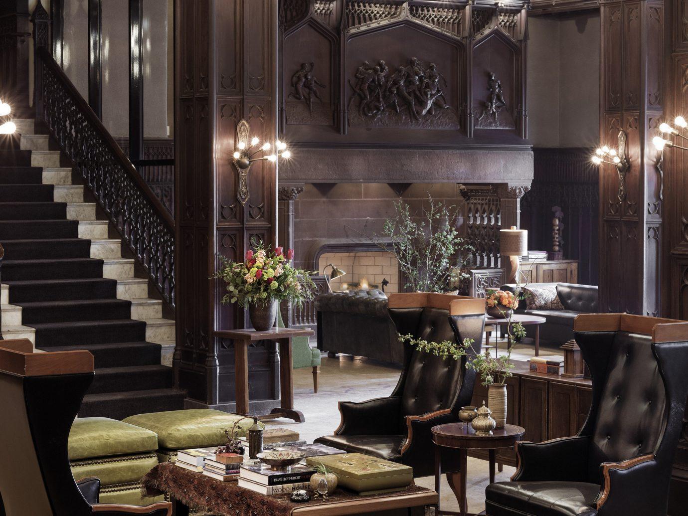 Trip Ideas indoor room ceiling Lobby interior design estate dining room home restaurant living room meal furniture several