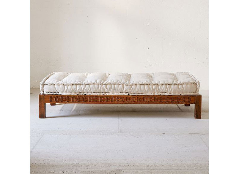 City Copenhagen Kyoto Marrakech Palm Springs Style + Design Travel Shop Tulum wall furniture bed frame bed indoor couch studio couch product design mattress wood Bedroom product angle ottoman outdoor furniture futon seat tan