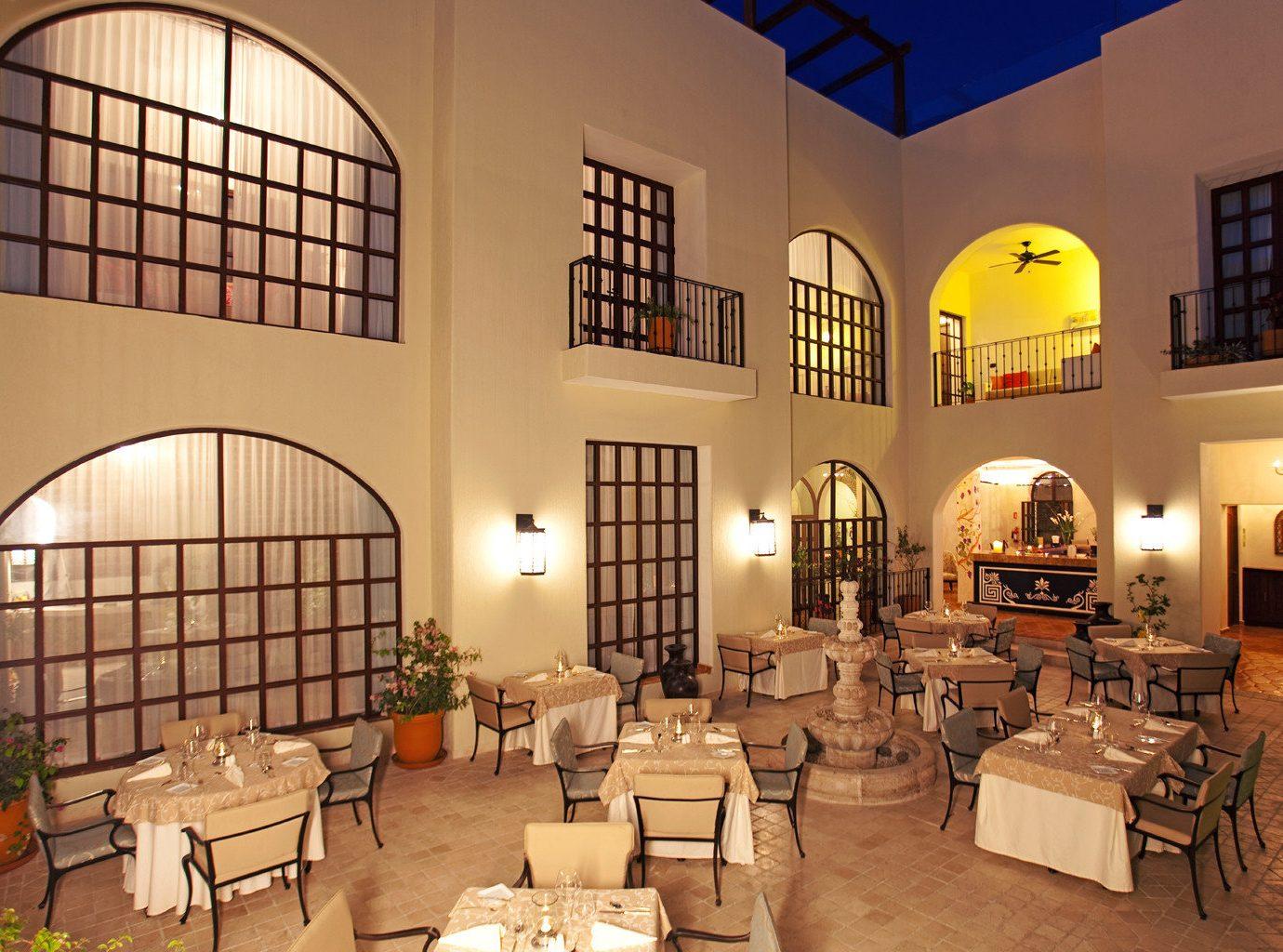 Dining Elegant Trip Ideas indoor floor property room Living Lobby estate interior design restaurant hacienda furniture living room