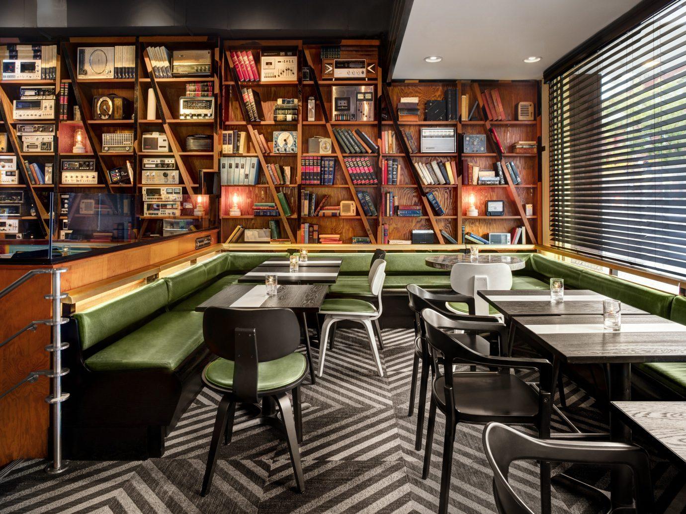 Offbeat Trip Ideas indoor floor table window room ceiling library interior design restaurant Dining furniture
