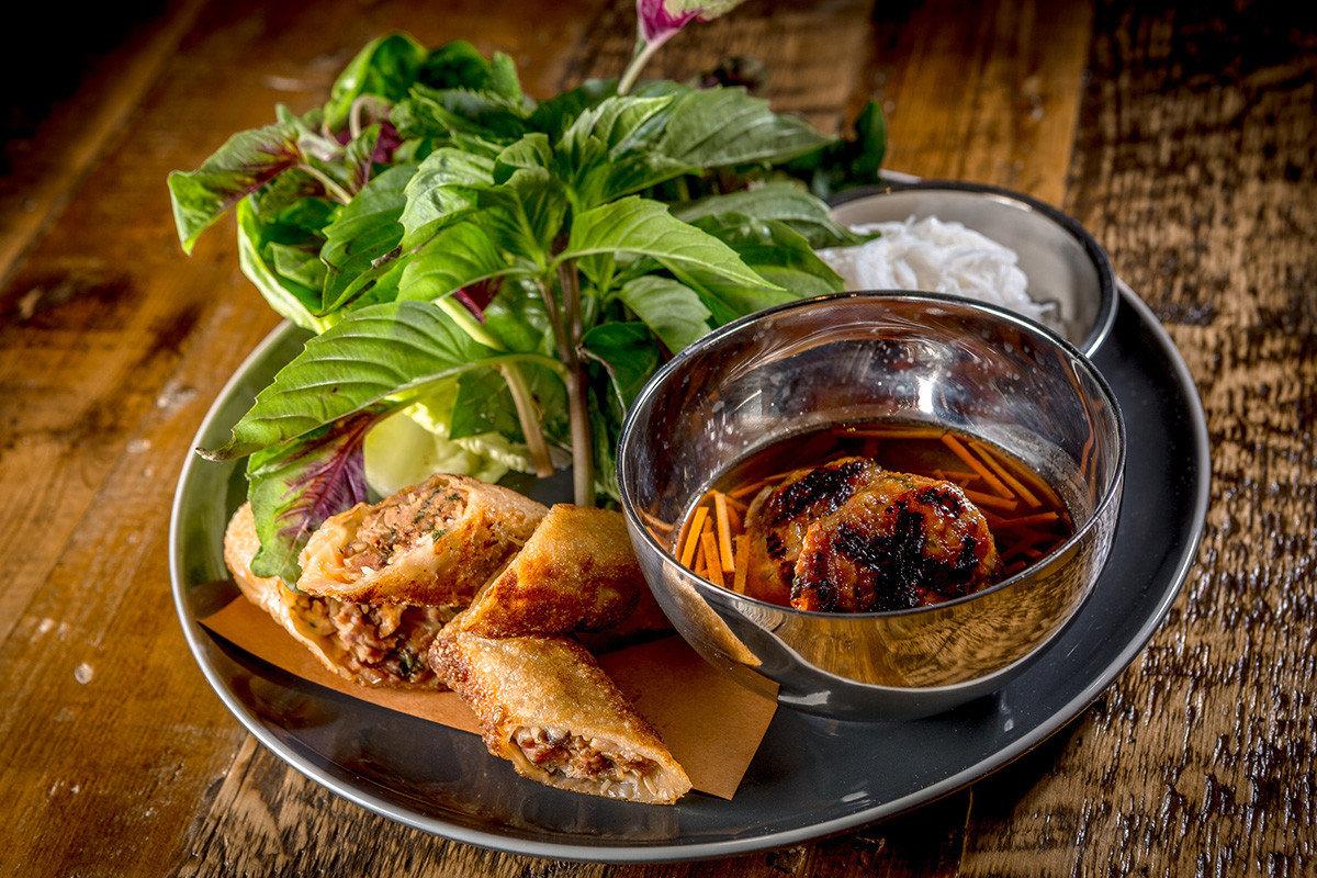 Food + Drink food dish plate cuisine vegetarian food asian food meal southeast asian food thai food recipe chinese food