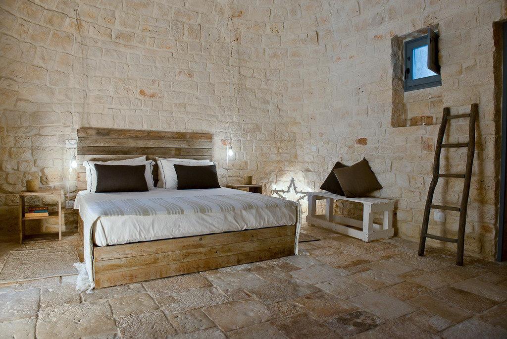 Boutique Hotels Hotels Trip Ideas wall room indoor furniture bed bed frame floor wood Bedroom interior design Suite flooring estate stone mattress tan
