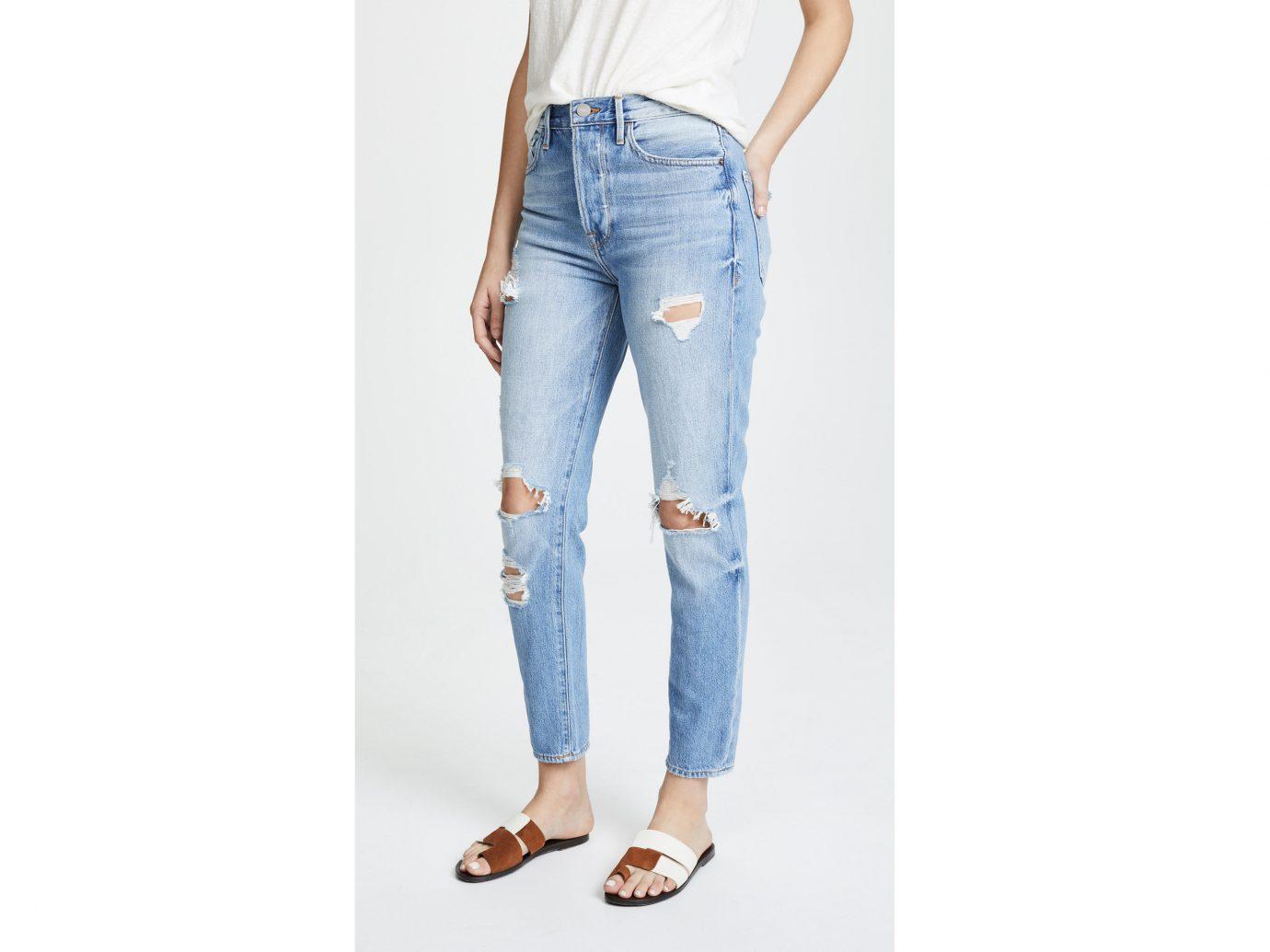 Girls Getaways Trip Ideas Weekend Getaways person clothing jeans denim trouser waist trousers joint pocket shoe posing