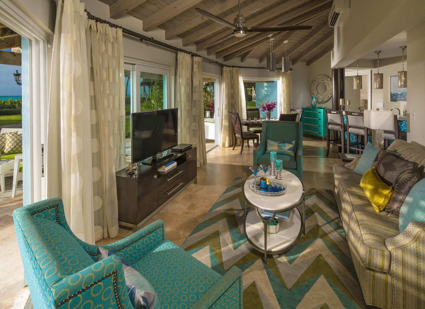 All-Inclusive Resorts caribbean Family Travel Hotels room living room interior design real estate estate home house