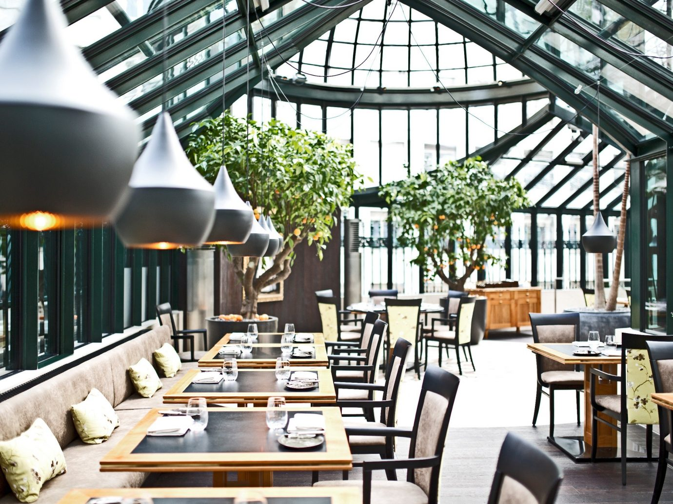 Austria europe Hotels Vienna restaurant interior design outdoor structure roof