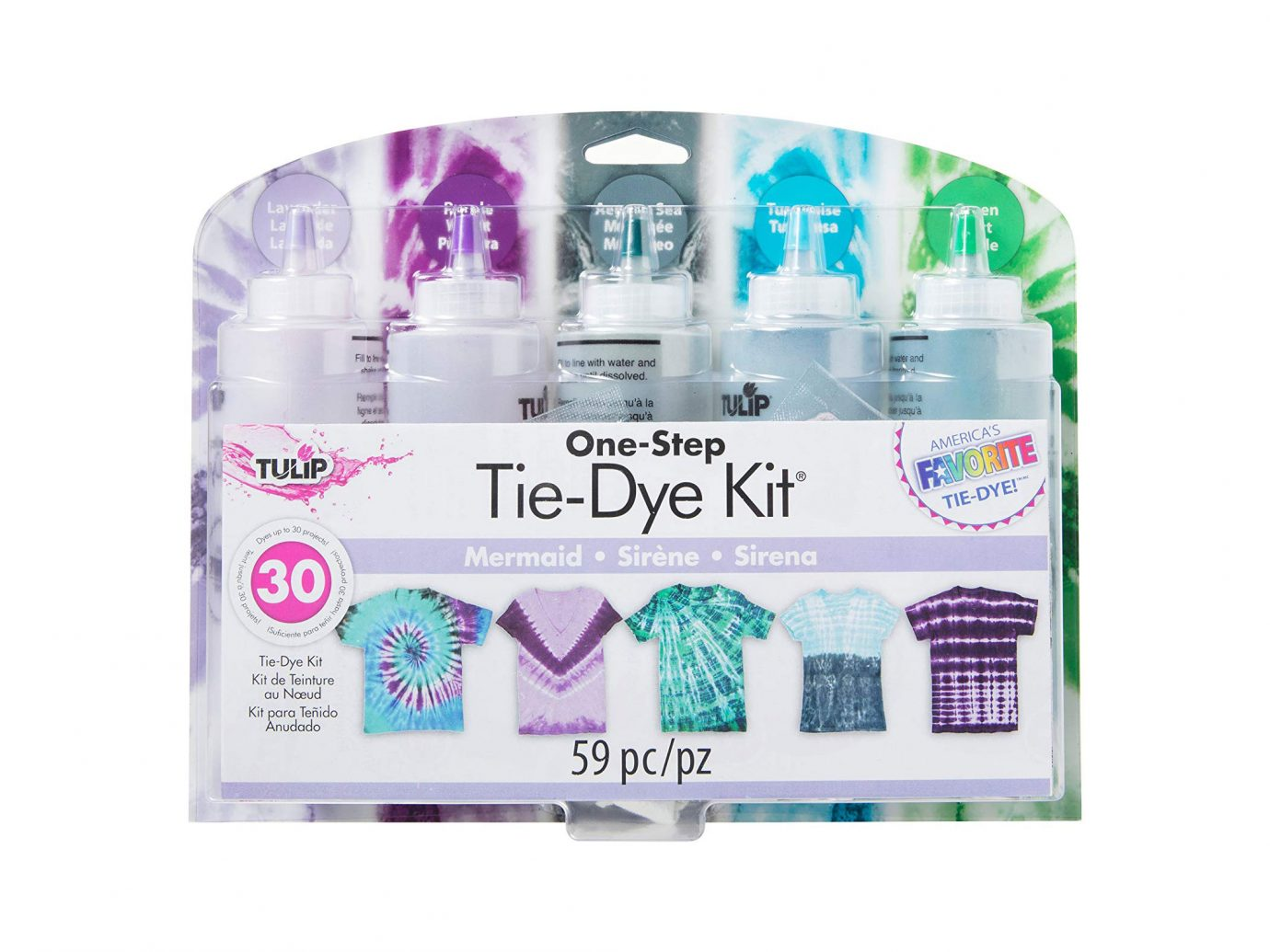 Tulip One-Step Tie Dye 5-Color Kit