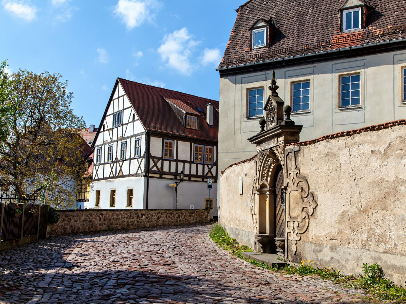 Berlin europe Germany Trip Ideas property house Town home cottage building estate sky facade real estate window Village medieval architecture Villa manor house farmhouse