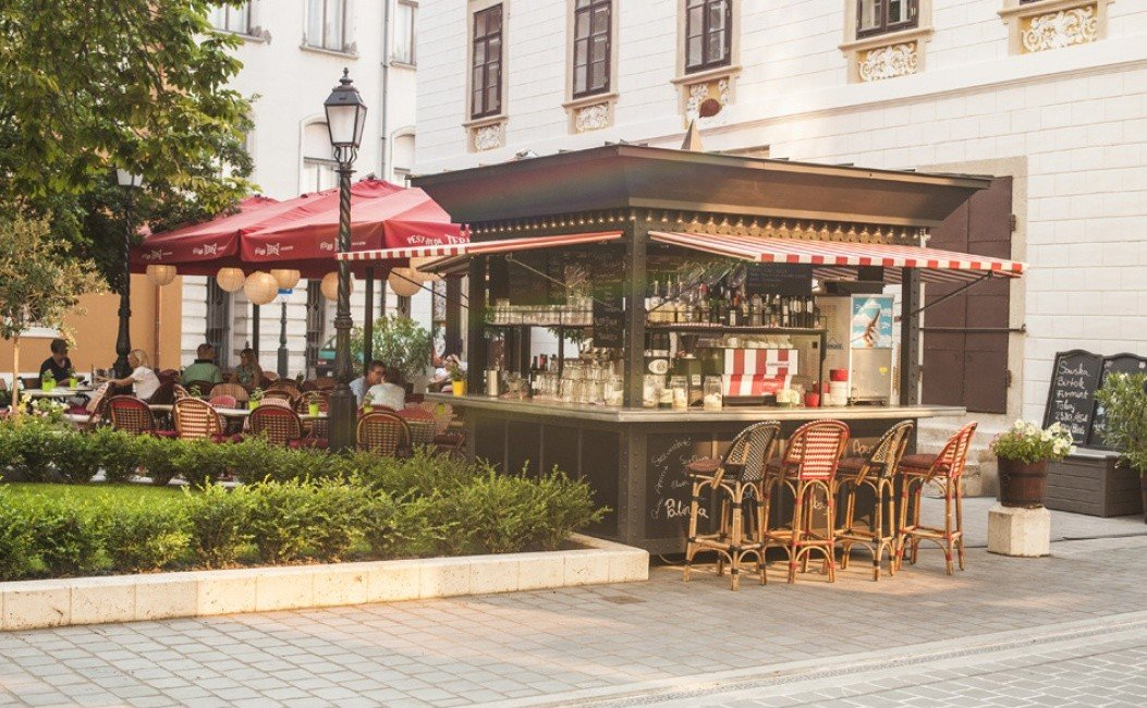 Budapest europe Hotels Hungary outdoor structure café restaurant gazebo