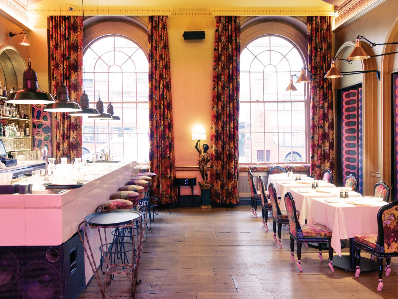Sketch London dining room and bar