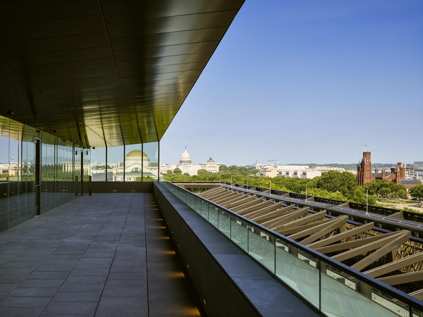 National Museum of African American History and Culture view