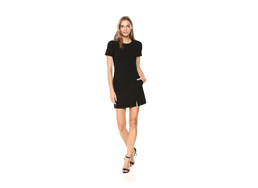Style + Design Travel Shop clothing black dress fashion model day dress little black dress shoulder joint sleeve waist neck shoe abdomen cocktail dress trunk supermodel