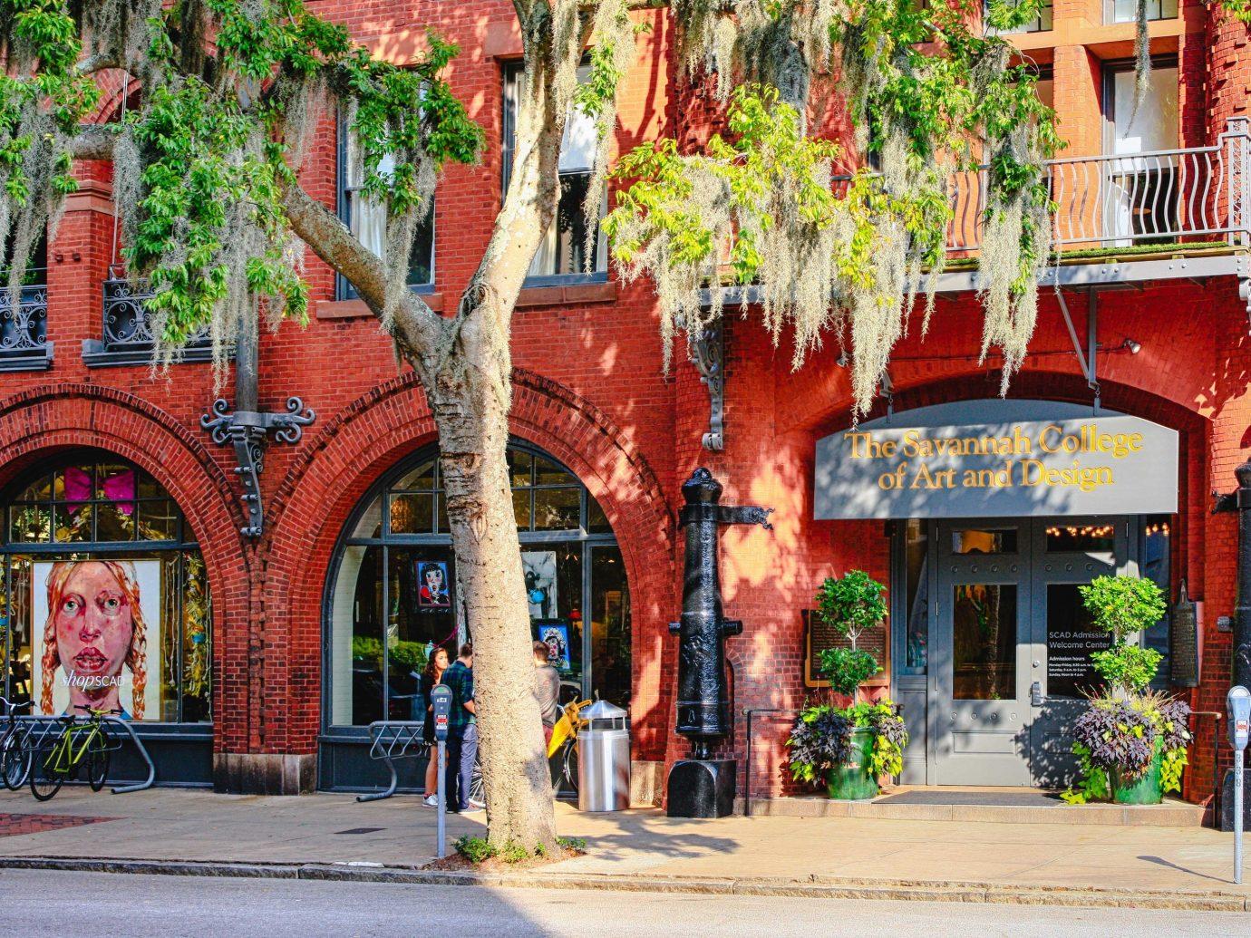 Girls Getaways Trip Ideas Weekend Getaways neighbourhood Town City house tree facade street home real estate mixed use window building plant