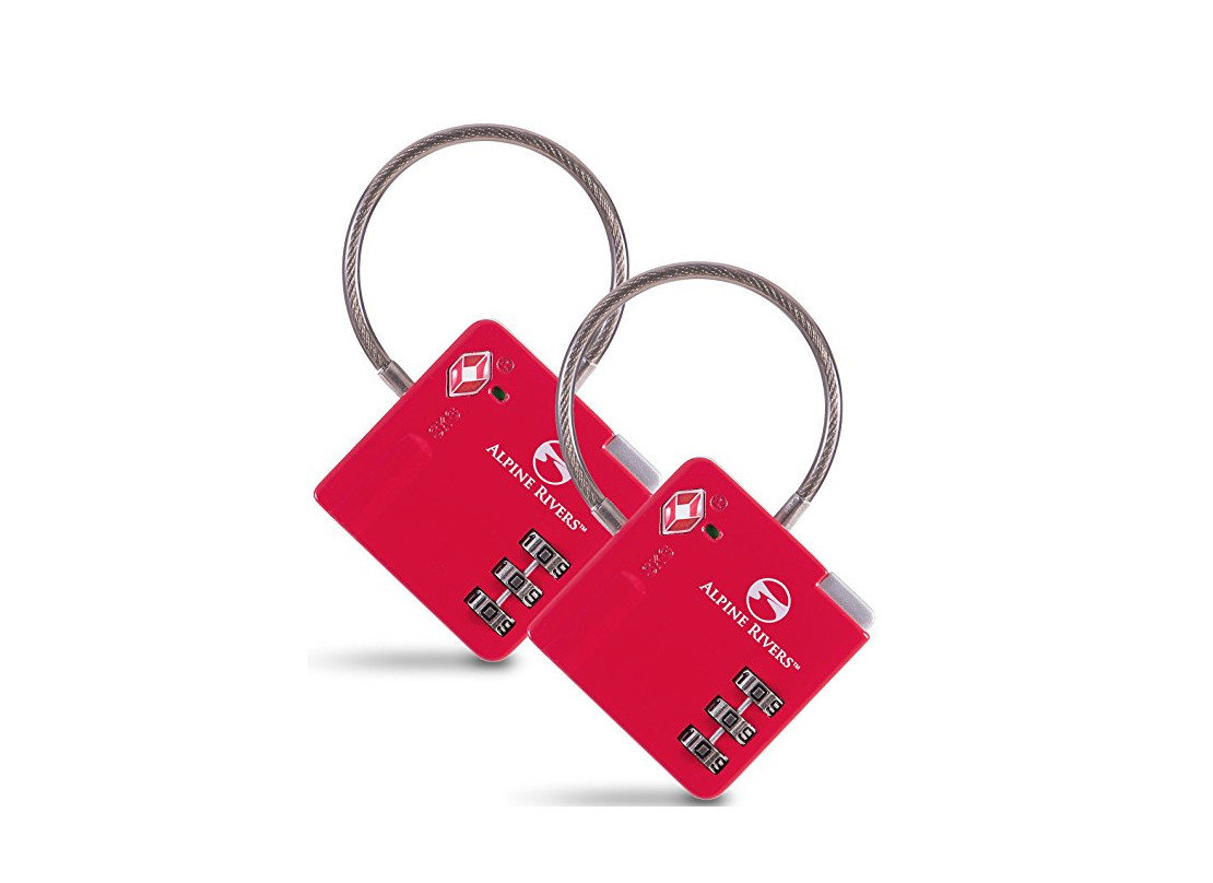 Packing Tips Solo Travel Travel Shop Travel Tips red padlock fashion accessory keychain lock product product design brand