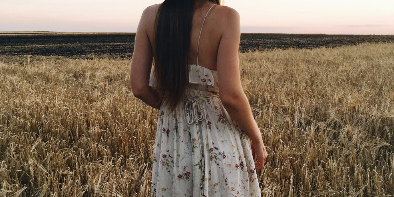 Style + Design Travel Shop grass sky outdoor field person grass family crop wheat girl prairie harvest straw grain commodity food grain rye agriculture